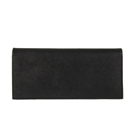 프라다 PRADA 남성용 장 지갑 (동전 지갑) 블랙 WALLET PORTAF. VERTICALE 2MV836 QME F0002 NERO 2M0836 QME F0002