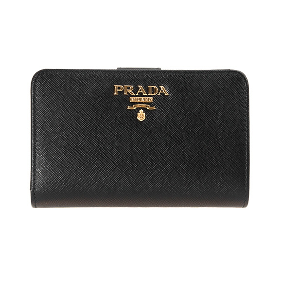 1ml225 Qwa F0002 Lady Portafoglio Lampo Nero Wallet Negro Folio Prada W4qwSa1W
