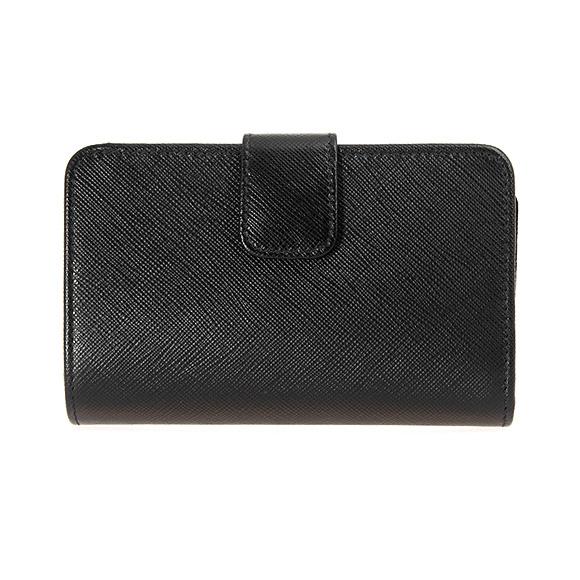 Prada PRADA wallet Lady s folio wallet black black PORTAFOGLIO LAMPO 1ML225  QWA F0002 NERO fd274d4719