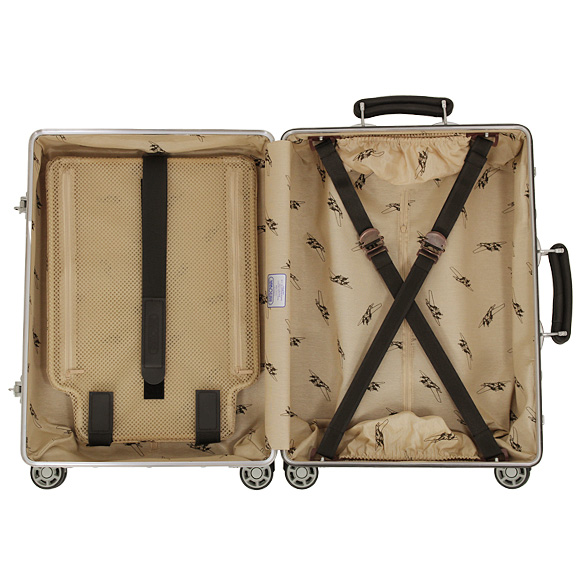 리 모와 클래식 여행 가방 (기내 반입 크기 35L) CLASSIC FLIGHT 976.52 CABIN TROLLEY IATA SILVER RIMOWA 고도 깨어도이 리 모와 リモア LIMOWA