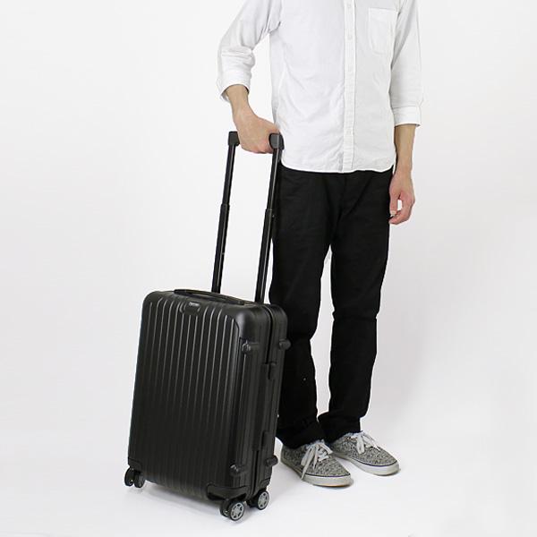 Rimowa Salsa SALSA NEW Suitcase (on Board Carry On Size 35 L) 4 Wheel Wheel  Matte Black 834.52 CABIN MULTIWHEEL IATA MAT BLACK RIMOWA Limon And Also.