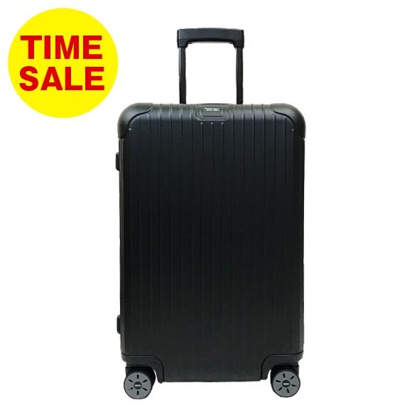 リモワ RIMOWA ニュー サルサ 63L NEW SALSA 4輪マルチホイール スーツケース 811.63.32.5 MULTIWHEEL E-TAG [電子タグ] マットブラック 黒 MATTE BLACK 【国内配送G】