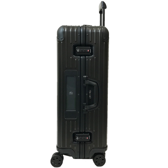 Rimowa TOPAS STEALTH suitcase (large size 82 L) 4-wheel wheel black 986.14 MULTIWHEEL BLACK RIMOWA and instead both Oh LIMOWA