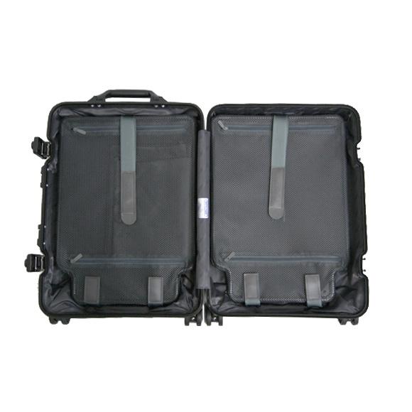 리 모와 RIMOWA 황 옥 스텔스 32L (기내) TOPAS STEALTH 4 륜 멀티 휠 가방 986.17 CABIN MULTIWHEEL 블랙 BLACK