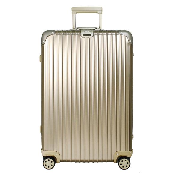 リモワ RIMOWA トパーズ チタニウム 82L TOPAS TITANIUM 4輪マルチホイール スーツケース 923.70.03.4 MULTIWHEEL シャンパンゴールド 【国内配送G】