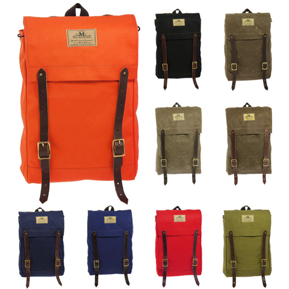 Marschall bag backpack MINI CANOE PACK SEIL MARSCHALL