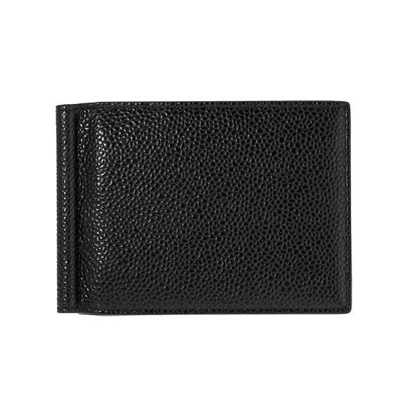 トムブラウン THOM BROWNE 財布 メンズ 二つ折り財布(マネークリップ) ブラック MONEY CLIP WALLET MAW025L-00198 001 BLACK