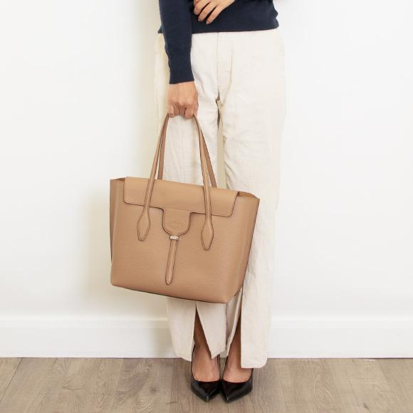 トッズ Tod S Bag Lady Tote Light Brown Joy Medium Xbwanxe0300ria S812 Tabacco Chiara