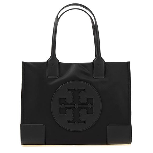 トリーバーチ TORY BURCH バッグ レディース トートバッグ ブラック 黒 ELLA MINI TOTE [エラ] 45211 001 BLACK 【A4】