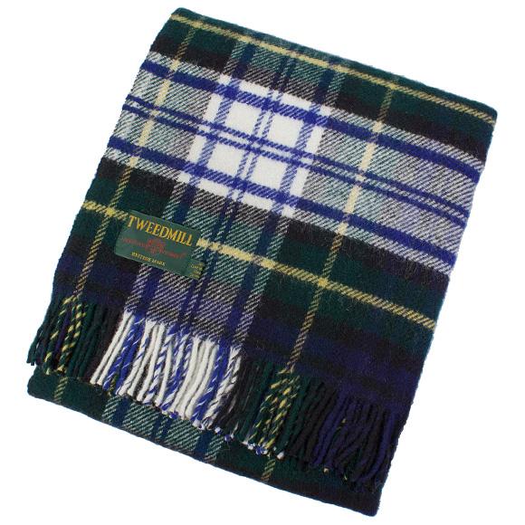 Tartan To Label Blanket Throw