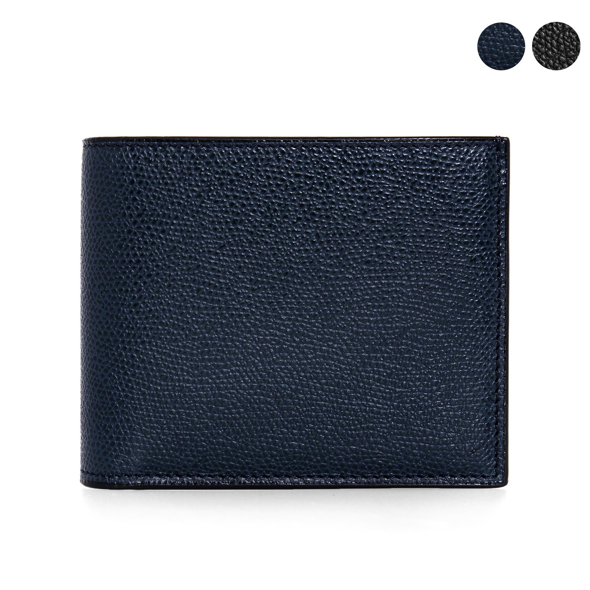 ヴァレクストラ VALEXTRA 財布 メンズ 二つ折り財布 4 CC WALLET WITH COIN PURSE V8L23 028 [全8色]