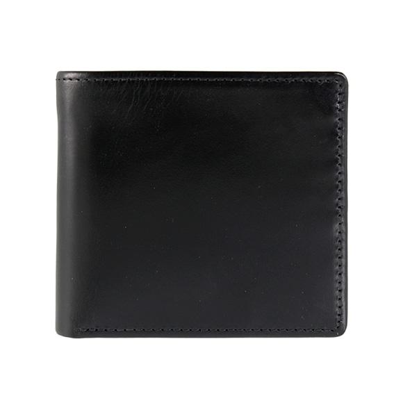 ホワイトハウスコックス WHITEHOUSE COX 財布 メンズ 二つ折り財布(小銭入れ付) ブラック 黒 S7532/SR1563 BLACK (JP)【英国】