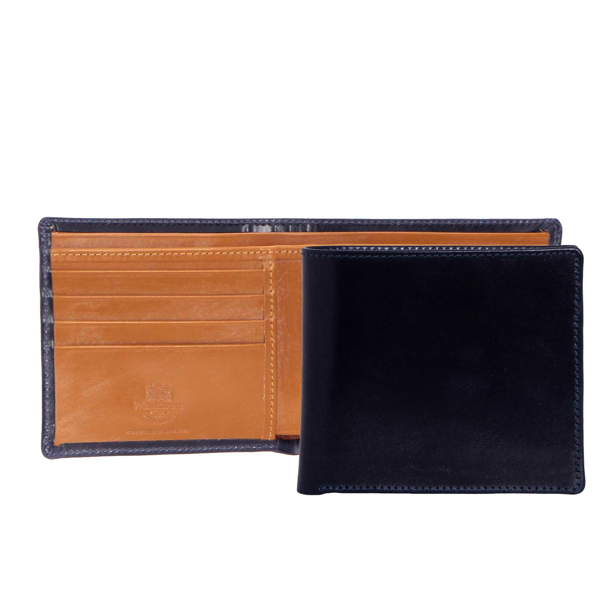 ホワイトハウスコックス WHITEHOUSE COX 財布 メンズ 二つ折り財布(小銭入れ付) ネイビー/ニュートン COIN WALLET S7532 NAVY/NEWTON (JP)【英国】