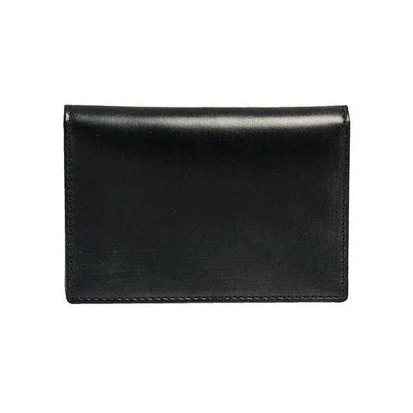 ホワイトハウスコックス WHITEHOUSE COX メンズ 名刺入れ(カードケース) ブラック 黒 NAME CARD CASE S7412 BLACK【英国】【business】