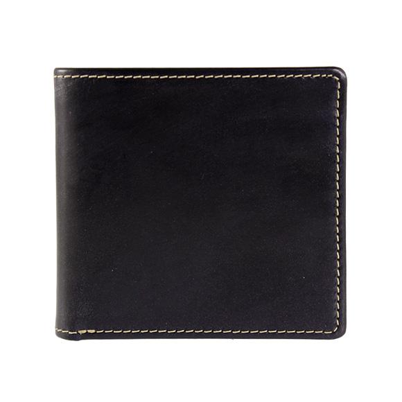 ホワイトハウスコックス WHITEHOUSE COX 財布 メンズ 二つ折り財布 ネイビー NOTE CASE BRIDLE S5571 NAVY【英国】