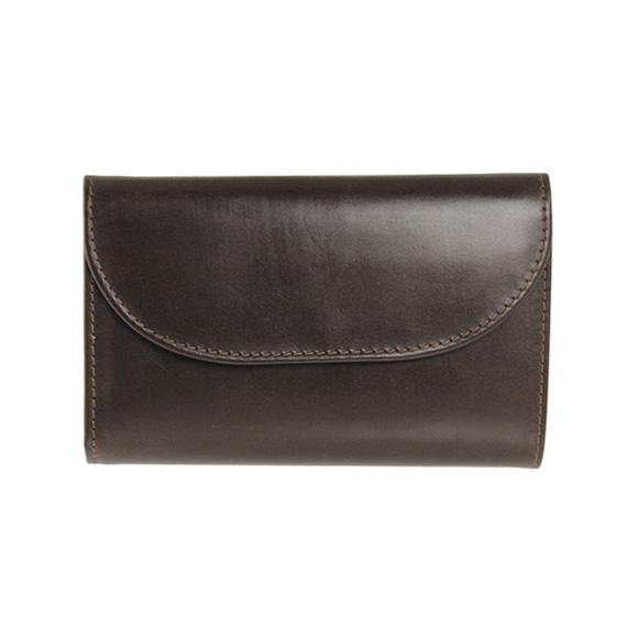 ホワイトハウスコックス WHITEHOUSE COX 財布 三つ折り財布(小銭入れ付) ハバナブラウン 3FOLD WALLET BRIDLE S7660 HAVANA【英国】