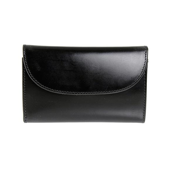ホワイトハウスコックス WHITEHOUSE COX 財布 三つ折り財布(小銭入れ付) ブラック 黒 THREE FOLD PURSE S7660/SR1112 BLACK【英国】