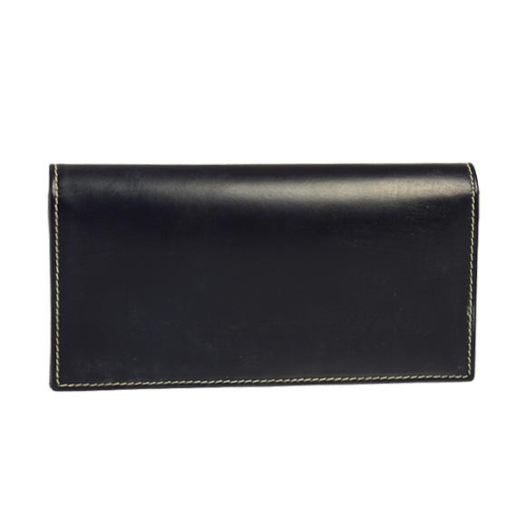ホワイトハウスコックス WHITEHOUSE COX 財布 メンズ 長財布(小銭入れ付) ネイビー LONG WALLET S9697 NAVY【英国】