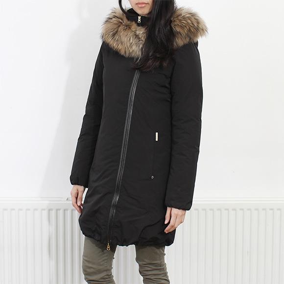 Woolrich WOOLRICH Womens down coat W's EUGENE COAT black WWCPS2133 SM20 100  BLACK