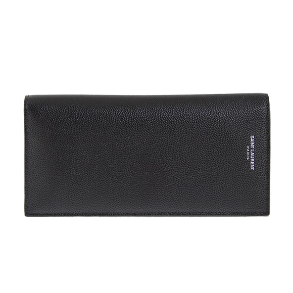 折り財布 ブラック 二つ折り財布 メンズ 315865 BTY0N 1000 SAINT LAURENT PARIS サンローランパリ 送料無料