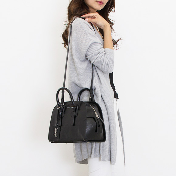 Saint Lau Paris Bag Lady 2way Hand Shoulder Black Grenelle S Moroder 498920 0bb0e 1000 Yves