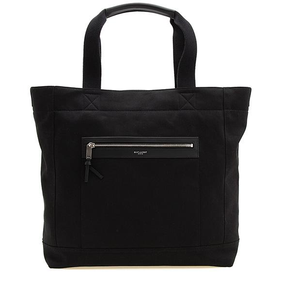 サンローラン パリ SAINT LAURENT PARIS バッグ メンズ トートバッグ ブラック 黒 CITY SHOPPING BAG 553917 GW7LF 1000 BLACK【A4】