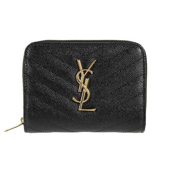 710c66b40b2 Saint-Laurent Paris SAINT LAURENT PARIS wallet Lady's folio wallet black  403723 BOW01 1000 NERO ...