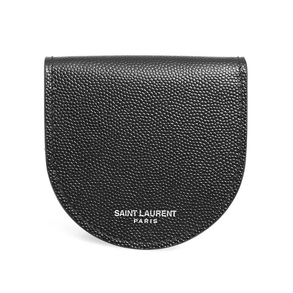 サンローラン パリ SAINT LAURENT PARIS 財布 メンズ コインケース ブラック COIN PURSE 607918 BTY0N 1000 BLACK