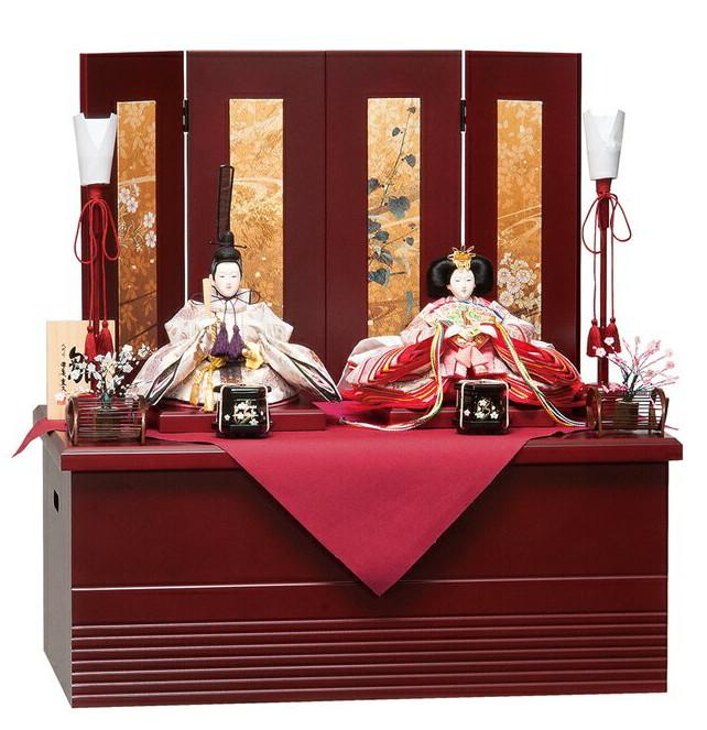 雛人形 平安豊久 収納飾り ひまり ひな人形 304881