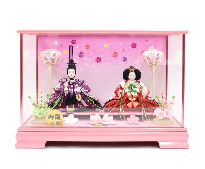 雛人形 久月 ケース飾り 65624