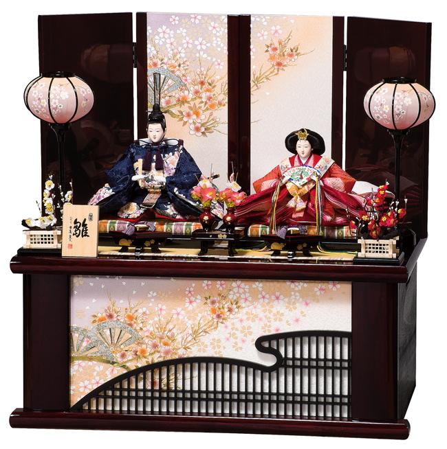 雛人形 平安豊久 収納飾り まお ひな人形 HE-084 p39