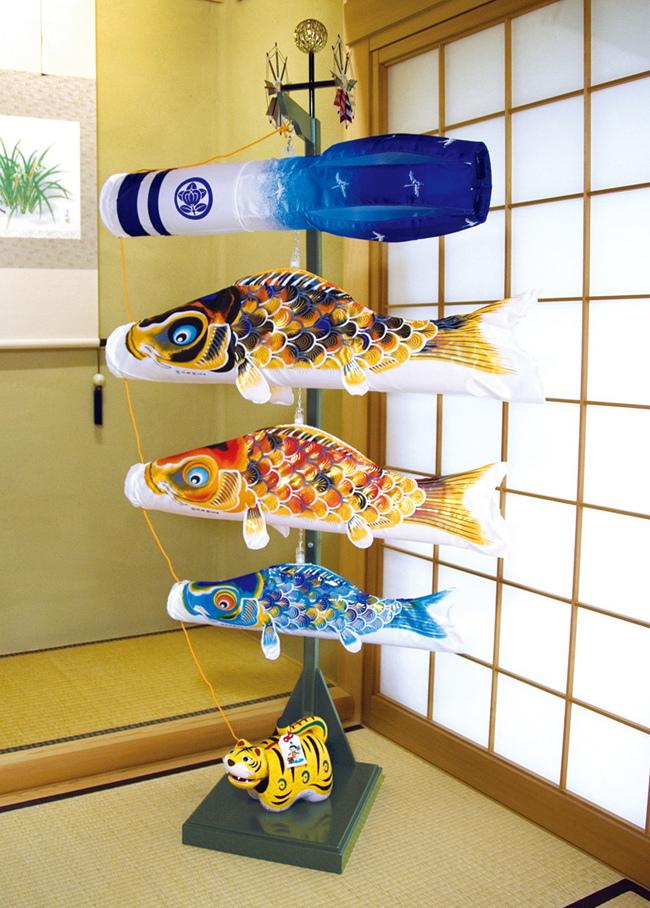 【こいのぼり】京錦 室内飾りセット【徳永 鯉のぼり】