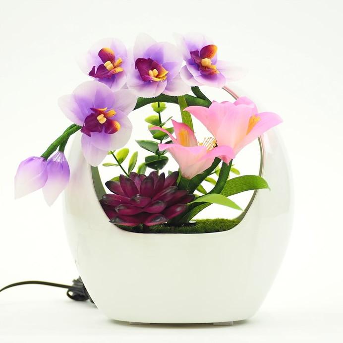 盆提灯 和の灯り ルミナスポット 胡蝶蘭