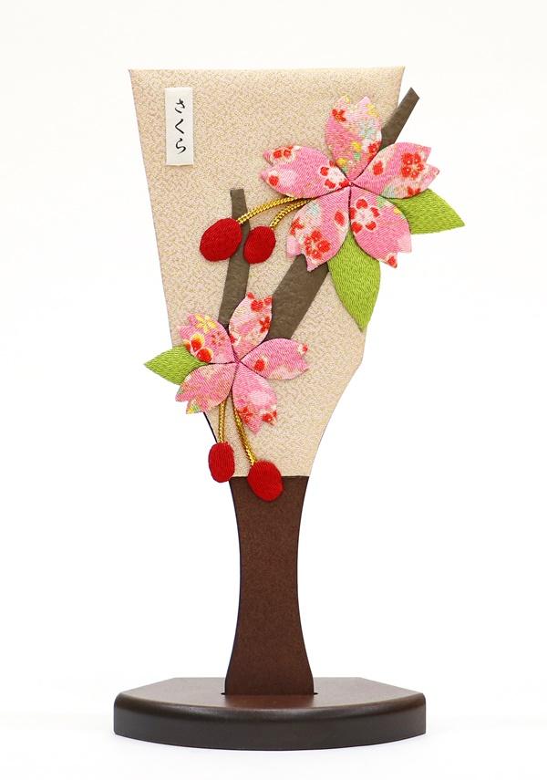 姫羽子板 さくら 正月飾り 26cm