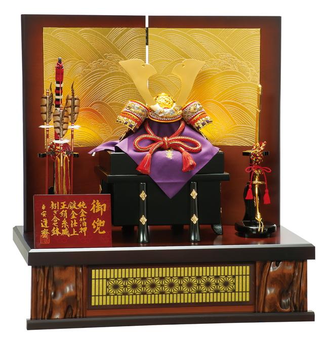 五月人形 平安豊久 兜飾り 10号 波千鳥 502251 p12