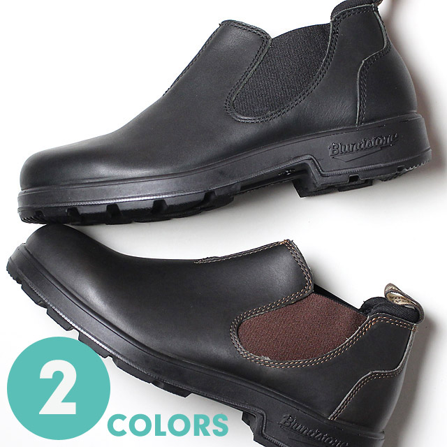 撥水加工 サイドゴア レインブーツ メンズ レディース 20%OFF ブランドストーン BLUNDSTONE 撥水 ローカット サイドゴア ブーツ レインブーツ 全2色 メンズ レディース (190607)