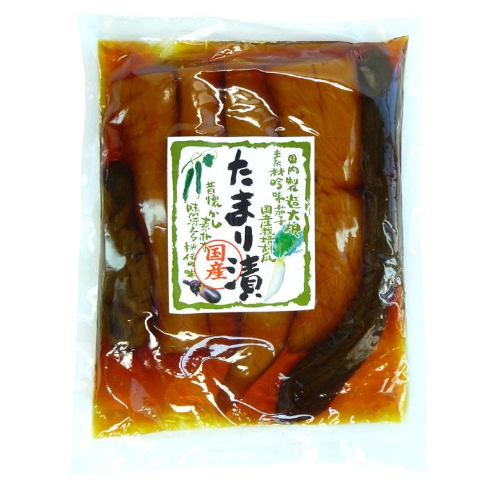 しょう油漬け。国内製造。国産大根・茄子・胡瓜。昔懐かし素朴な味が冴える秘伝の味 たまり漬