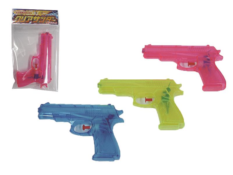 送料無料 お得セット クリアサンダー水ピストル 全商品オープニング価格 玩具 おもちゃ プレゼント 子供用 キッズ用 ギフト