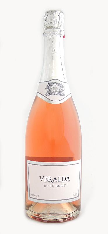ヴェラルダ 로즈 단맛이 NV VERALDA Rose Brut (BADEL, Sparkling Rose wine, Croatia) 750ml) (해외 선물 크로아티아 기념품/기프트 축구 연회)