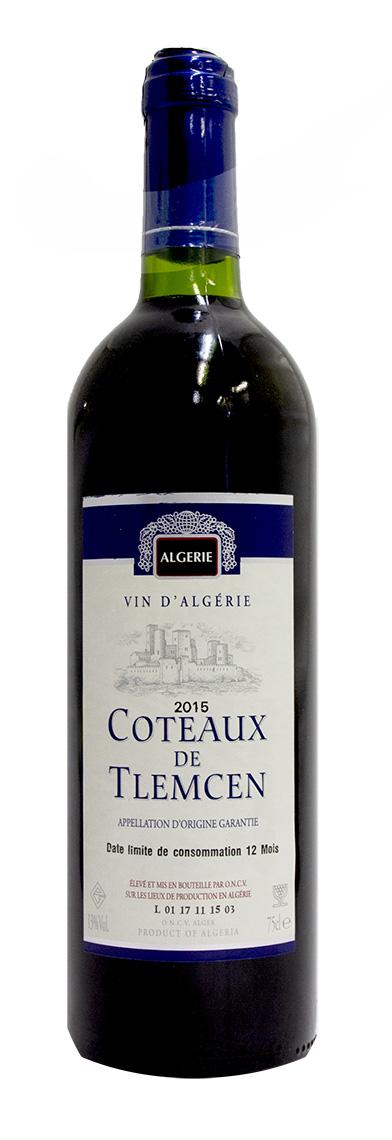 アルジェリアワイン コトー ド トレムセン ルージュ 赤 驚きの値段で 新作多数 Coteaux Tlemcen Algeria Rouge 中重 de