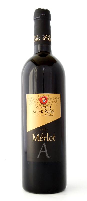 【レバノンワイン】ル・メルロー ア(赤・重口)Le Merlot A (Red Fullbody)(Clos St.Thomas, Lebanon) 750ml