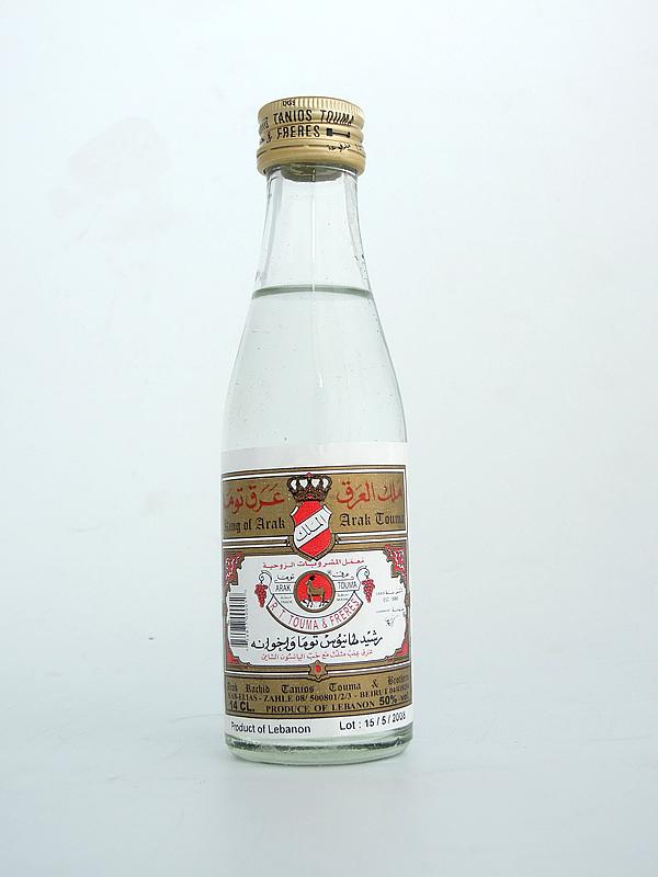 Arak mini size Arak 140 ml (Clos St.Thomas, Lebanon) (Middle East anise)