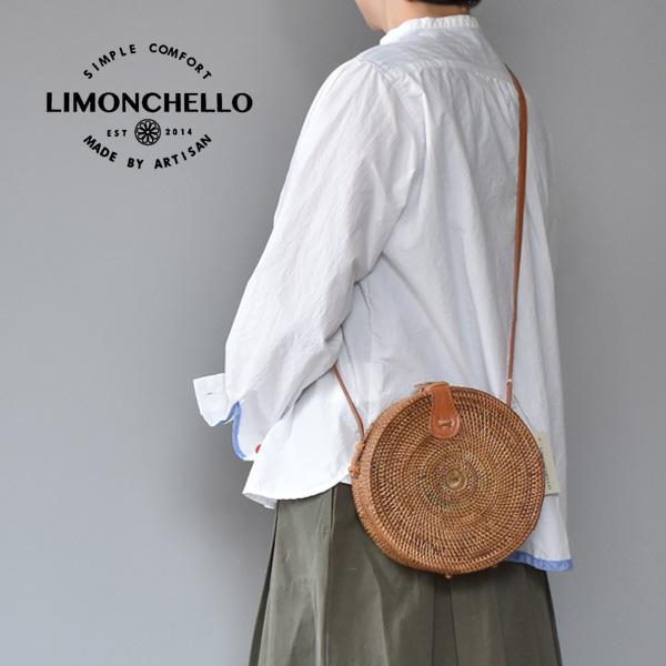 LIMONCHELLO[リモンチェッロ]ATA BAG Round ラウンドかごポシェット