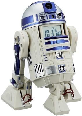 プレゼントに最適 毎日激安特売で 営業中です 簡易ラッピング無料対応 スターウォーズ R2-D2 目覚まし時計 白 8ZDA21BZ03 音声 リズム時計 アクション付き バースデー 記念日 ギフト 贈物 お勧め 通販