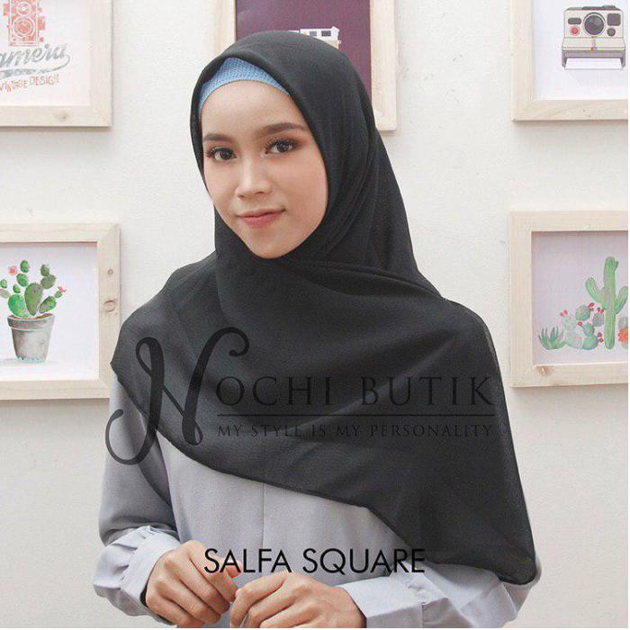 スクエアヒジャブSQUARE SALFA (hijab non instant)