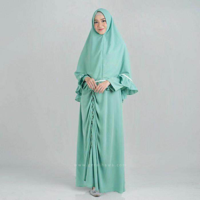 新作からSALEアイテム等お得な商品満載 SALE 送料無料 インドネシアの有名女優のプロダクト ムスリムロングドレスセットDURROH MUSLIM DRESS ABAYA ドレス エレガント 女性 礼拝 礼拝服 宗教 hijab イスラム教 レディース ヒジャブ付き ムスリム セット 民族衣装 高級感 レビューを書けば送料当店負担