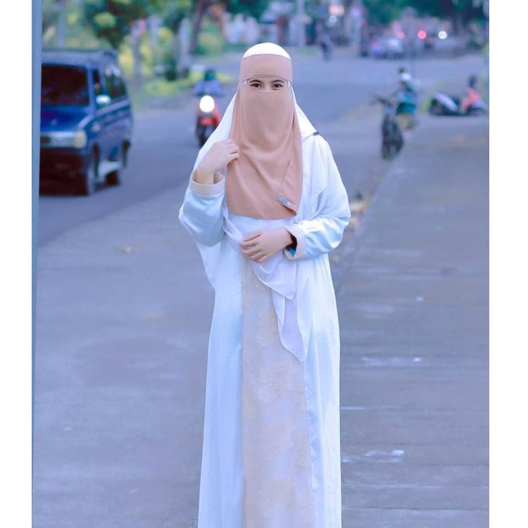 バティックコラボレーション ムスリムロングドレス NEW ALIFA GAMIS 保証 購入 ABAYA MUSLIM DRESS