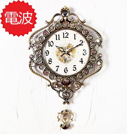 掛け時計 303振り子時計ゴールド インテリア 電波時計 壁掛け時計 おしゃれ 韓国 振り子時計 北欧 掛時計 正規品送料無料 時計 記念日