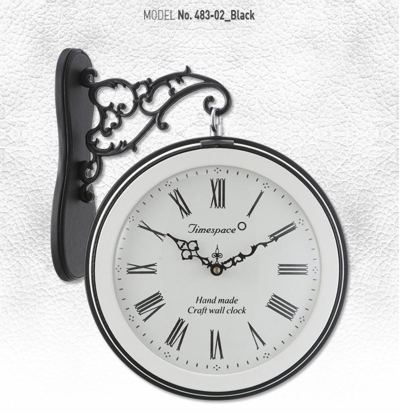 珍しく革で作られました両面電波時計です 両面電波時計 革483-02BBおしゃれな 低騷音 両面壁掛け時計 電波両面時計 両面時計 電波時計 お洒落 電波壁掛け時計 電波掛け時計 掛時計 かけ時計 壁時計 静か デザイン 上品 電波 見やすい 静音 インテリア リビング 高級 世界の人気ブランド おしゃれ 壁掛け 韓国