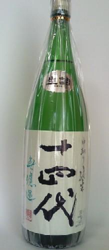 【2019年4月製造】十四代 中取り純米無濾過生酒 1800ml